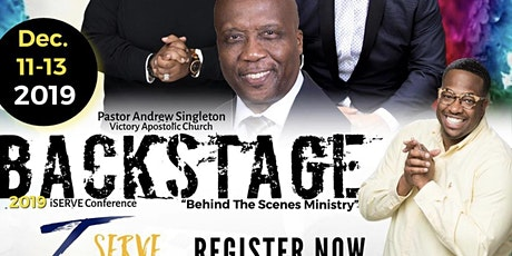 """I-Serve Conference 2019 """"Behind The Scenes Ministry"""" tickets"""