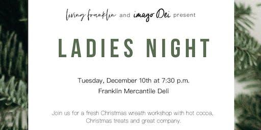 Living Franklin & Imago Dei Ladies Night