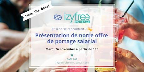 Afterwork - Présentation d'Izyfree Portage [Lyon] billets
