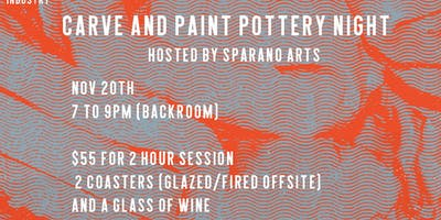 Carve and Paint Pottery Night