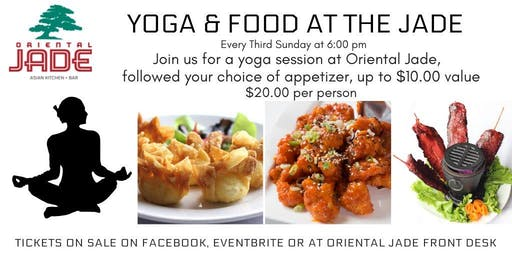 Yoga & Food at the Oriental Jade