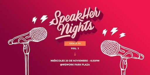 SpeakHer Nights CDMX @ Santa Fe