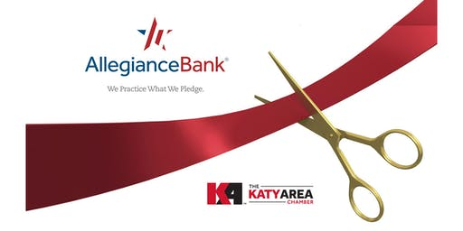 Ribbon Cutting: Allegiance Bank