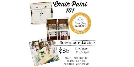 Annie Sloan Chalk Paint 101