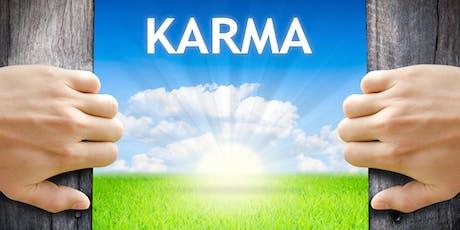 """Conferenza """"Creare un futuro felice - la saggezza del karma"""" con il monaco buddista Gen Kelsang Cho biglietti"""