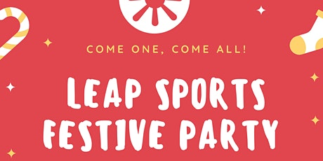 LEAP Sports Scotland Festive Party tickets