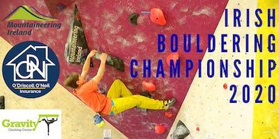 Irish Bouldering Championship 2020