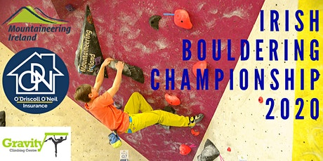 Irish Bouldering Championship 2020 tickets