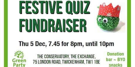 Festive Quiz Fundraiser tickets