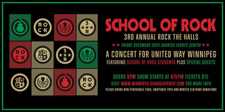 School of Rock 3rd Annual Rock The Halls tickets