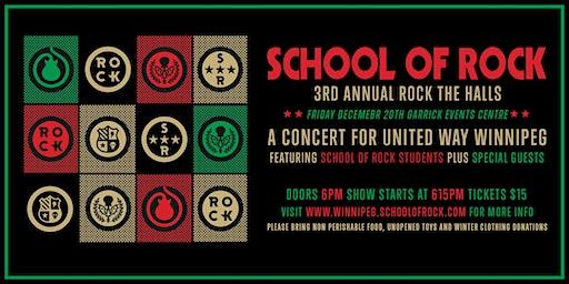 School of Rock 3rd Annual Rock The Halls