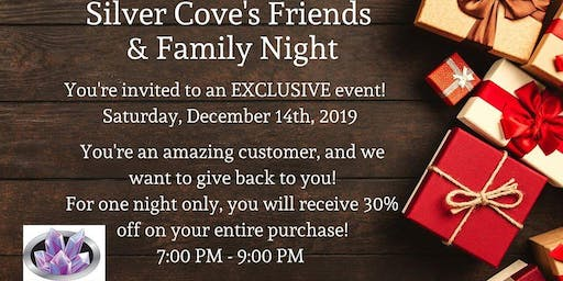Silver Cove Friends & Family Night