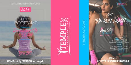 TEMPLE TRANSFORMATION 360 BOOTCAMP  - DECEMBER 2019 tickets