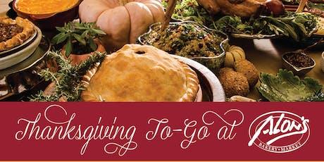 Thanksgiving To-Go at Alon's Bakery & Market in Atlanta tickets