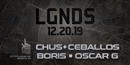 Chus & Ceballos, Boris, Oscar G - LGNDS