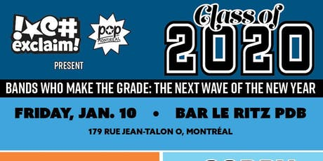 Class Of 2020/MTL: Hanorah, Sorry Girls, Sasha Cay + Dish Pit, Petra Glynt billets