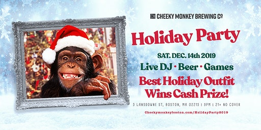 Holiday Party at Cheeky Monkey