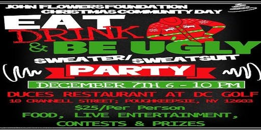 Eat, Drink & Be Ugly Sweater Party