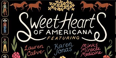 3 Rockin Songwriters Karen Jonas, Lauren Calve, Minks Miracle Medicine tickets