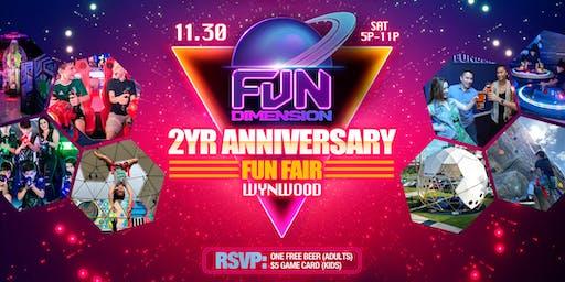 FunDimension FunFair - 2 Year Anniversary