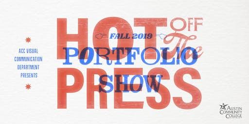 Fall 2019 Graphic Design Portfolio Show