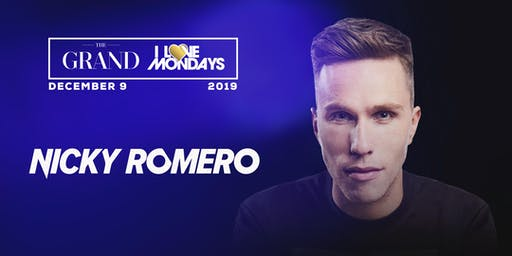 I Love Mondays feat. Nicky Romero 12.9.19