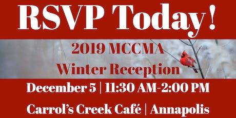 MCCMA Winter Reception tickets