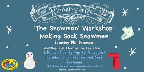 'The Snowman' Workshop : Making Sock Snowmen tickets