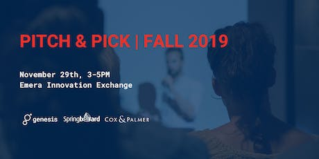 Pitch & Pick Fall 2019 tickets