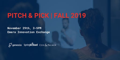 Pitch & Pick Fall 2019
