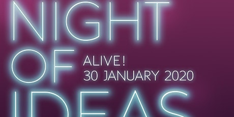 Night Of Ideas Alive! Jersey tickets
