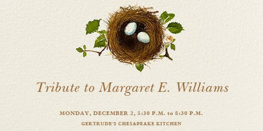 A Tribute to Margaret E. Williams