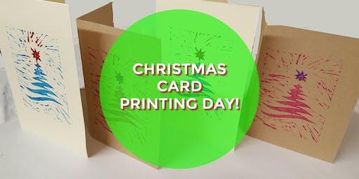 Christmas Card Printing Day !
