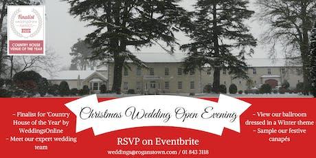 Christmas Wedding Open Evening tickets