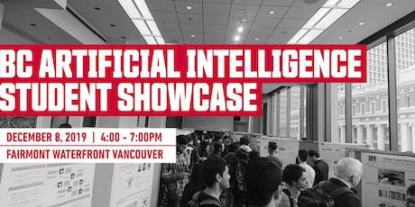 British Columbia AI Student Showcase Presenter Registration tickets