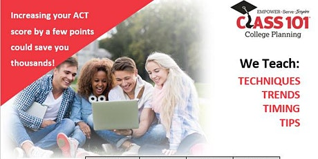 Class 101 Memphis  Spring ACT Prep Course  for April 4th ACT tickets