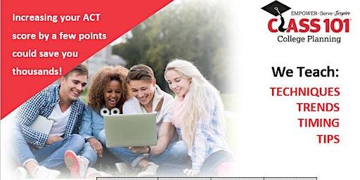 Class 101 Memphis  Spring ACT Prep Course  for April 4th ACT