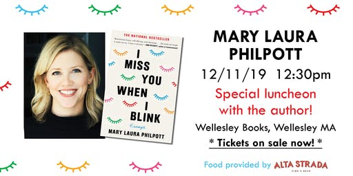 "Mary Laura Philpott luncheon for ""I Miss You When I Blink"""