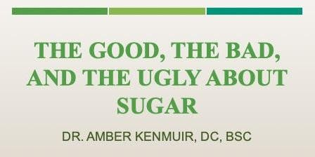 Sugar: The Good, The Bad, and The Ugly