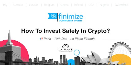 #FinimizeCommunity Presents: How to invest safely in crypto?