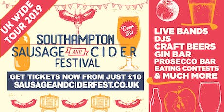 Sausage And Cider Fest - Southampton tickets