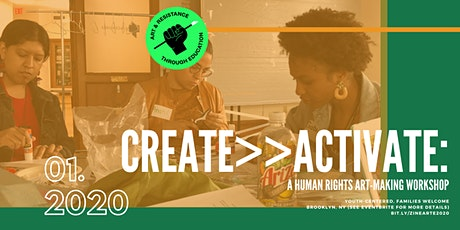 Create>>Activate: A Human Rights Art-Making Workshop tickets