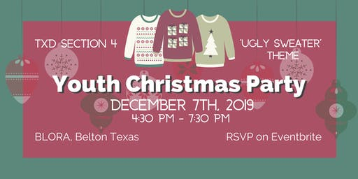 Section 4 Youth Christmas Party