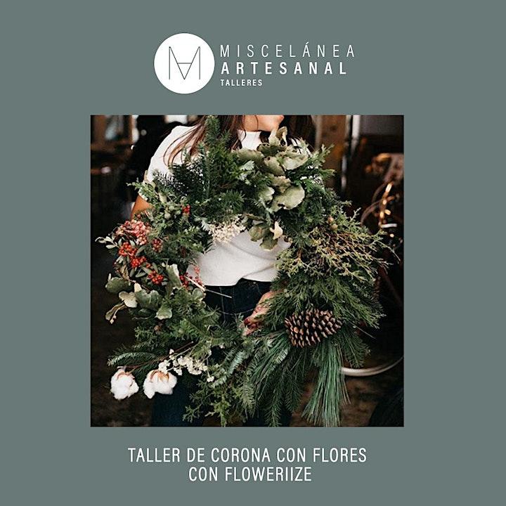 Imagen de Taller de Coronas con flores con FLOWERIIZE