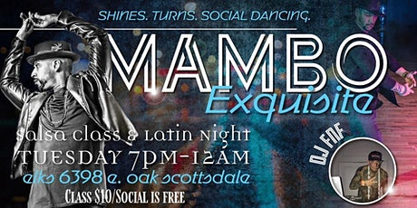 Salsa Class & Latin Social at The Elks Lodge #2148 tickets