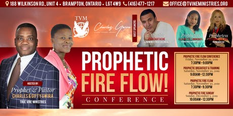 Prophetic Fire Flow Conference tickets