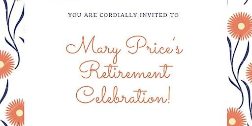 Mary Price's Retirement Celebration