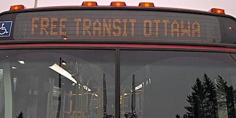 Campaign Launch - Free Transit Ottawa tickets