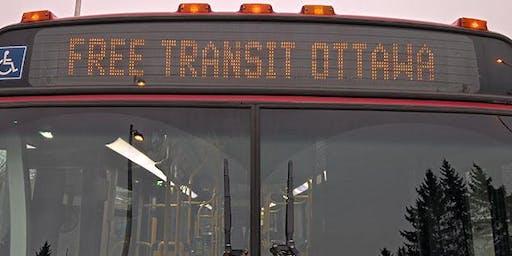 Campaign Launch - Free Transit Ottawa