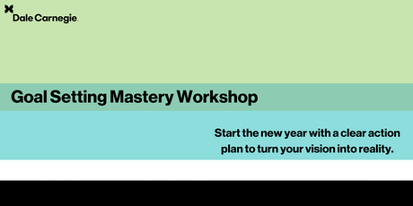 Goal Setting Mastery - Burlington tickets